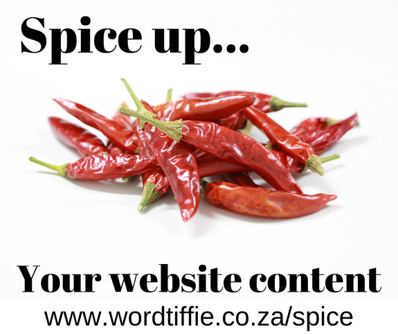 Spice up your company website with fresh, professionally written content
